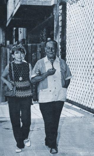 Leopoldo Marechal y Señora