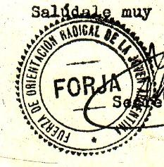 Resultado de imagen para declaracion FORJA